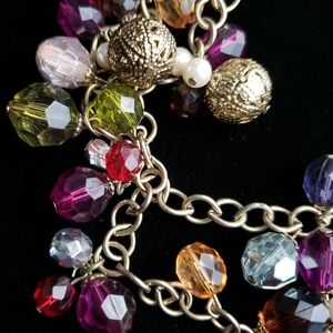Jewelry - Multicolored Faux Gem Necklace Chain